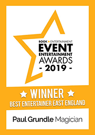 Book Entertainment best entertainer award